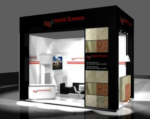 San Rocco - stand - Marmomacc - fiera - Verona - 2010 - Just in Time - JIT