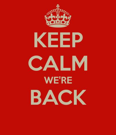 Siamo tornate!!!