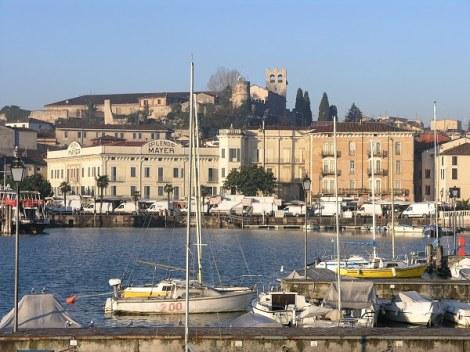 Panorama e castello dal molo