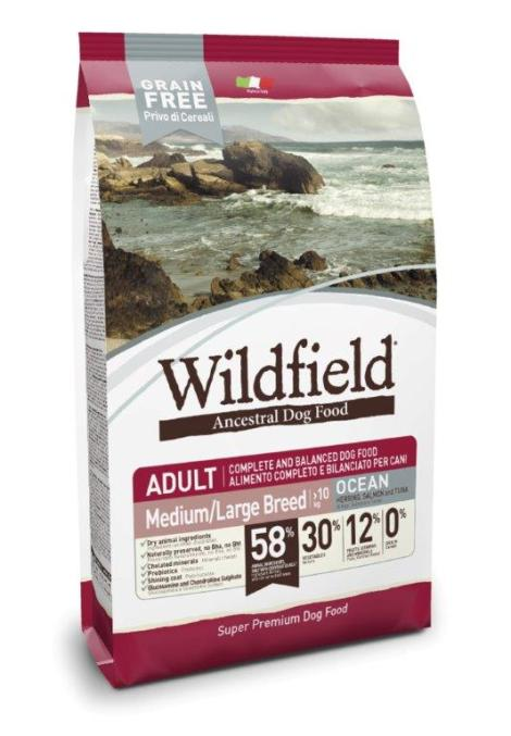 Wildfield Ocean Herring, Salmon and Tuna Medium L B