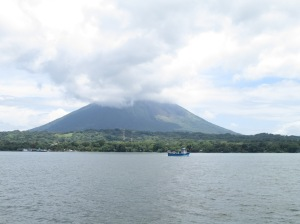 View of Vulcano Conception. Ometepe
